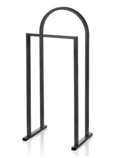 Maxmillen Metal Dilsiz Uşak Ön Yüks - 85 Arka Yüks - 100 Genişlik 40 Derinlik 32 Cm Siyah Renkli